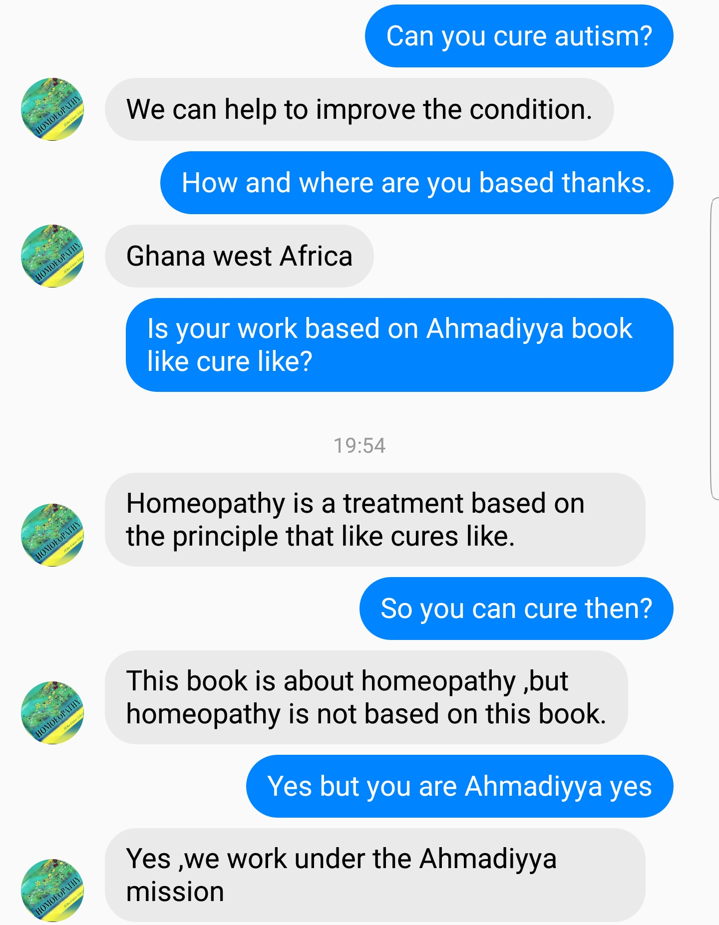 Ahmadiyya Promote Pseudoscientific Treatment Homeopathy And