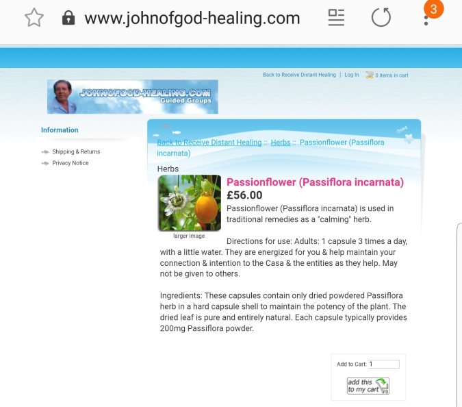 Mms Now Trying To Scam Irish >> John Of God Quack Butcher And Fraud Fiona O Leary