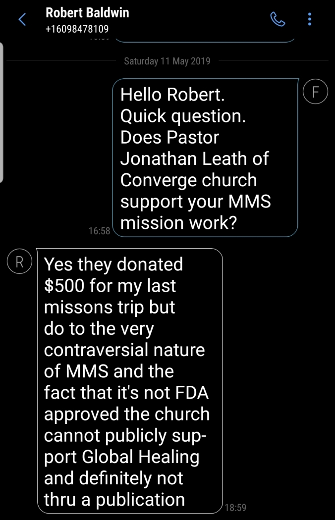 Mms Now Trying To Scam Irish >> Mms Bleach Peddlers Uganda New Jersey Exposed Fiona O Leary
