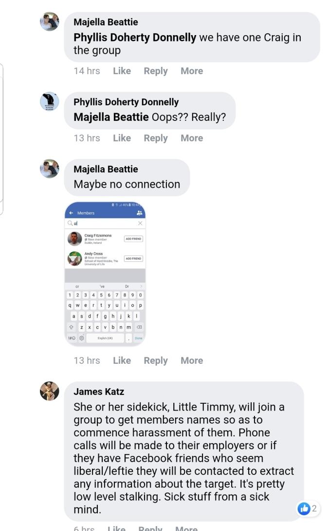 Exposing Gemmas Closed Facebook Group  Meet The Irish 'Patriots
